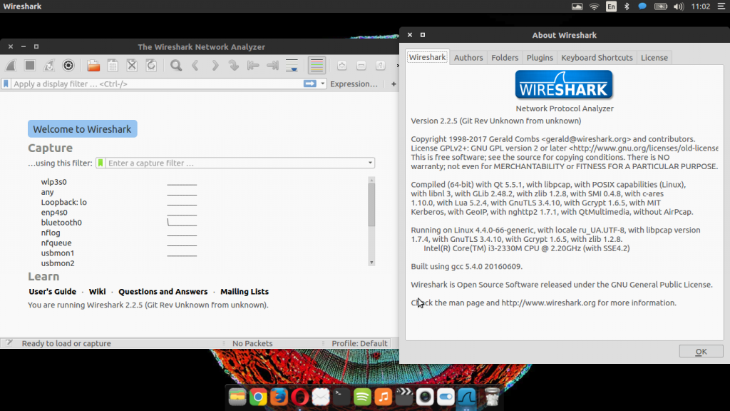 wireshark 2.2.5