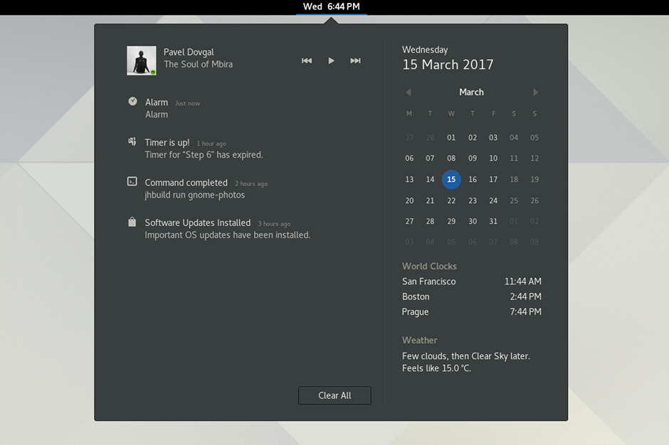 gnome 3.24 notifications