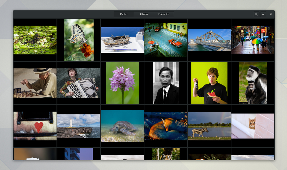 gnome 3.24 photos