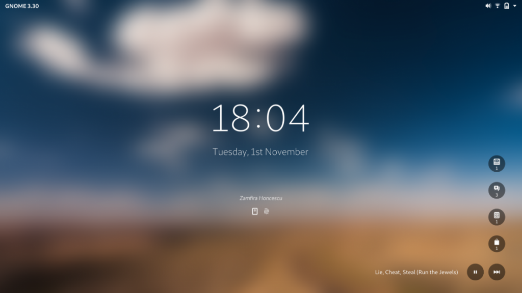 lockscreen gnome